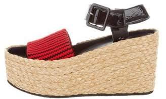 Celine Platform Wedge Sandals w/ Tags