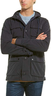 Scotch & Soda Ams Blauw Military Jacket