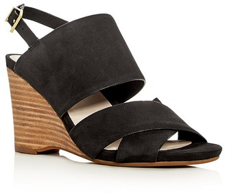Kenneth Cole Irene Wedge Sandals $140 thestylecure.com