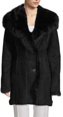 Leather & Lamb Shearling Jacket