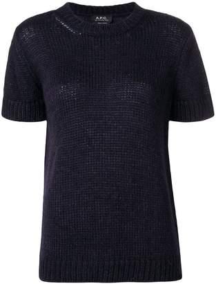 A.P.C. short sleeve sweater