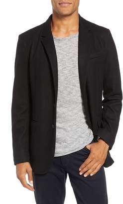 Rag & Bone Deconstructed Razor Slim Fit Wool Jacket