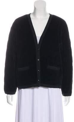 Sonia Rykiel Quilted Velvet Jacket