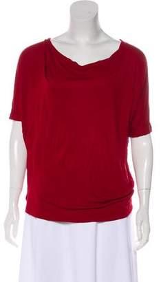 Vince Scoop Neck Short Sleeve T-Shirt