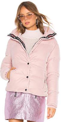Karl Lagerfeld X KAIA Velvet Down Jacket