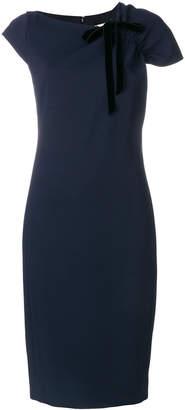 Lanvin ruched shoulder dress