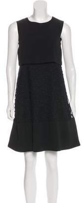 Chloé A-Line Embroidered Dress