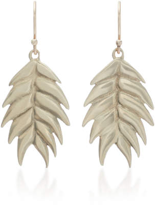 Annette Ferdinandsen Wild Oat 14K Gold Drop Earrings