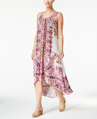 Style & Co Cutout High-Low Maxi Dress, Created for Macy's $59.50 thestylecure.com