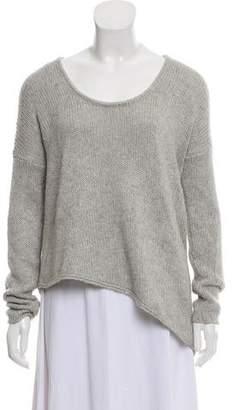 Helmut Lang Asymmetrical Scoop Neck Sweater