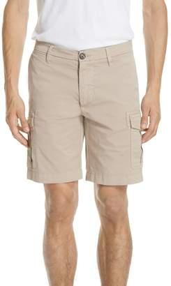Eleventy Stretch Cotton Cargo Shorts