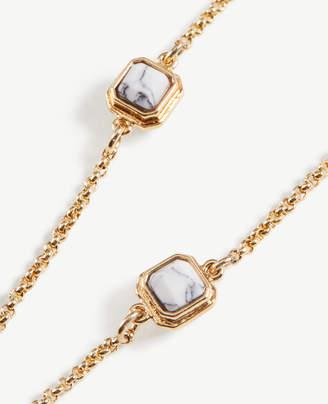Ann Taylor Stone Station Necklace