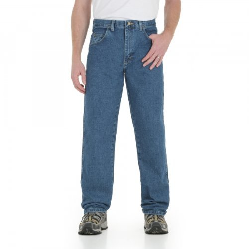 Wrangler Men's Big Rugged Wear Relaxed Fit Jean