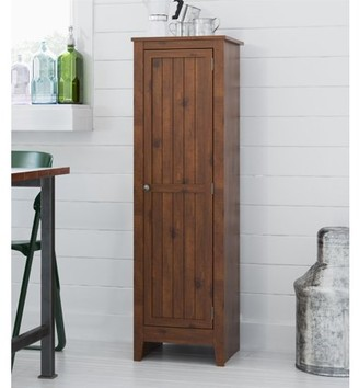 Ameriwood Home Milford Single Door Storage Pantry Cabinet, Old Fashioned Pine