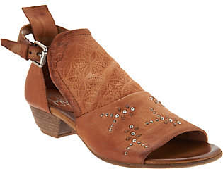 Miz Mooz Leather Detailed Sandals - Carey