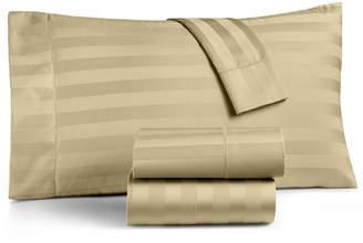 Charter Club Damask Stripe California King 4-Pc Sheet Set, 550 Thread Count 100% Supima Cotton