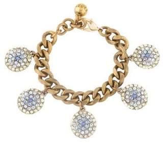 Lulu Frost Pavé Crystal Charm Bracelet