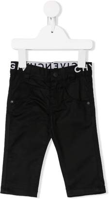 Givenchy Kids logo embroidered jeans