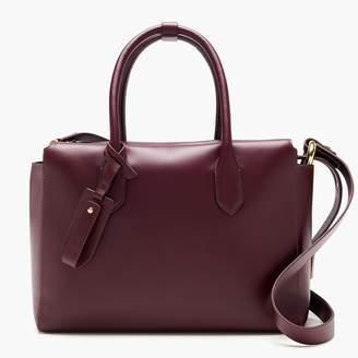 J.Crew The Harper satchel in Italian leather