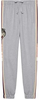 Gucci stripe cotton jogging pants