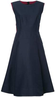 Marni piped flared dress