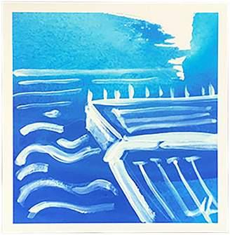 STUDY Jennifer Lia of Icebergs Pool Paper Print, 20x30cm