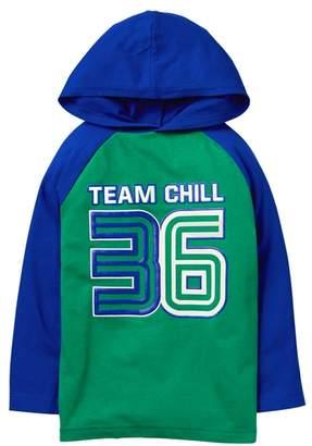 Crazy 8 Team Chill Hooded Raglan Tee
