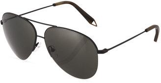 Victoria Beckham Victoria Classic Aviator Metal Sunglasses $189 thestylecure.com