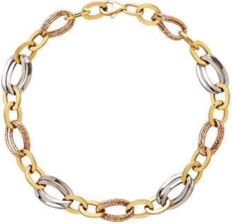 FINE JEWELRY Limited Quantities! Womens 8 Inch 10K Gold Link Bracelet