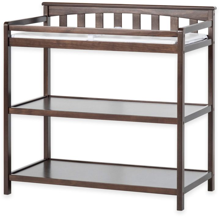 Child CraftChild CraftTM London Euro Flat Top Changing Table in Slate