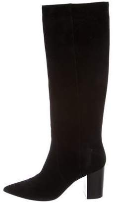 CNC Costume National Suede Knee-High Boots w/ Tags