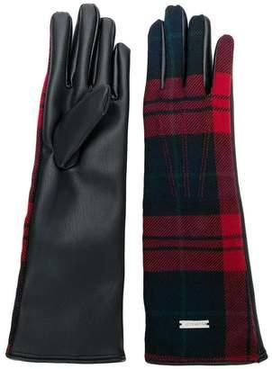 DSQUARED2 tartan gloves