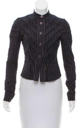Chanel Striped Lightweight Jacket