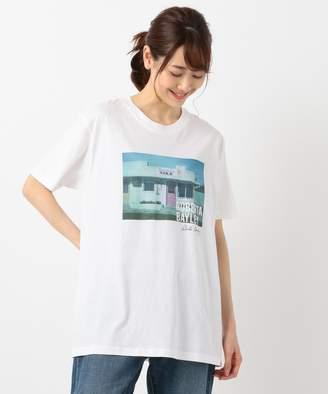 SHARE PARK (シェア パーク) - SHARE PARK LADIES 【洗える】ROBERTA BAYLEY グラフィック Tシャツ(C)FDB