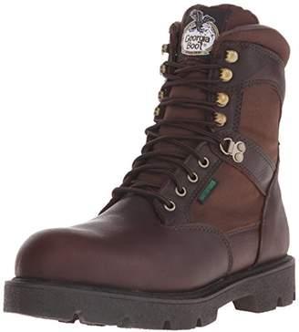 Georgia Boot Men's Homeland 8 Inch Steel Toe Work Shoe