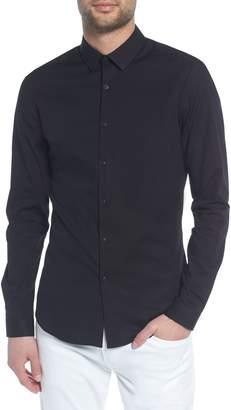 Topman Stretch Skinny Fit Shirt