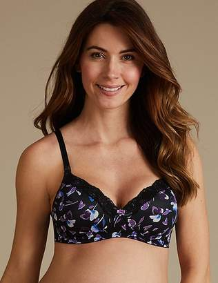 Marks and Spencer 2 Pack Maternity Non-Padded Full Cup Bras B-F