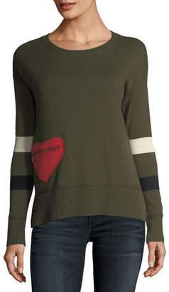 Lisa Todd Heartthrob Cotton-Cashmere Sweater, Plus Size