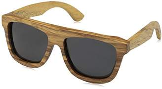 Earth Wood Unisex-Adult Imperial Wood Sunglasses ESG031Z Polarized Wayfarer Sunglasses