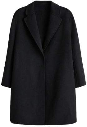 Violeta BY MANGO Lapels wool coat