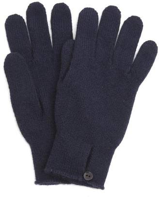 Johnstons of Elgin Cashmere Button Loop Gloves