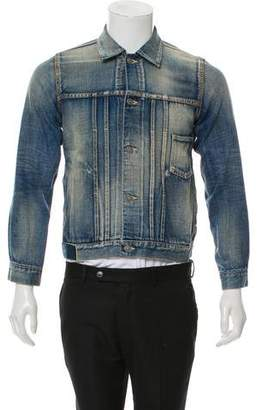 Visvim Medium Wash Denim Chore Jacket w/ Tags