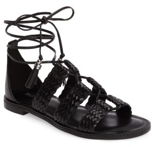 Women's Michael Michael Kors Monterey Lace-Up Gladiator Sandal $119.95 thestylecure.com
