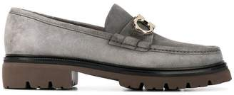 Salvatore Ferragamo front buckled loafers