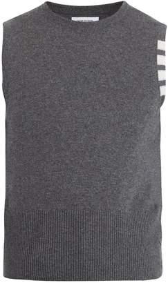 Thom Browne Crew-neck sleeveless sweater