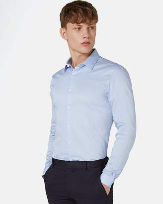 Topman Premium Egyptian Cotton Long Sleeve Shirt