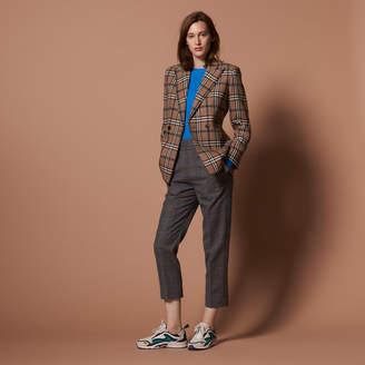 Sandro Straight-cut high-waisted trousers