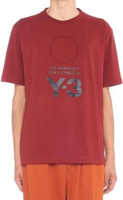 Y-3 Y 3 'm Stkd' T-shirt