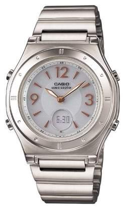 Casio (カシオ) - [カシオ]CASIO 腕時計 WAVE CEPTOR ウェーブセプター タフソーラー 電波時計 MULTIBAND 6 LWA-M141D-7AJF レディース