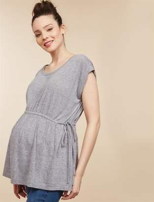 Motherhood Maternity Cinch Tie Waist Maternity Tunic